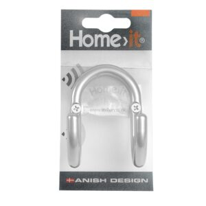 sølv-knag-hattekrog-dobbelt-handywoman-shop-homeit